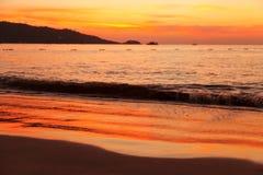 Phuket Sunset Stock Photo