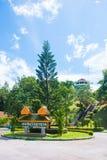 Phuket, Tailândia - 20 de agosto de 2017: Ponto de vista de Khao-Khad, 360 graus Fotos de Stock Royalty Free