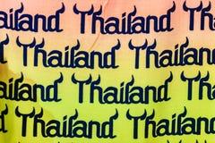 Phuket, Tailândia - 21 de fevereiro de 2017: Turismo colorido de Tailândia Imagem de Stock