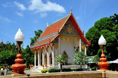 Phuket, Tailândia: Templo de Wat Chalong Imagem de Stock