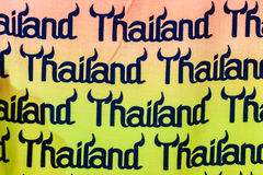 Phuket, Tailandia - 21 de febrero de 2017: Turismo colorido de Tailandia Imagen de archivo