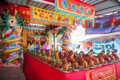 Phuket, Tailandia - 9 de septiembre de 2017: Phuket Por Tor Festival AR Fotografía de archivo libre de regalías