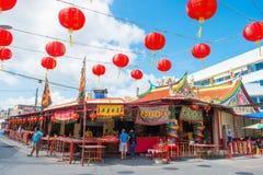 Phuket, Tailandia - 9 de septiembre de 2017: Phuket Por Tor Festival AR Imagen de archivo libre de regalías