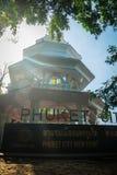 Phuket, Tailandia - 21 febbraio 2017: Towe di punto di vista della città di Phuket Immagine Stock