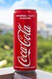 PHUKET, TAILANDIA 20 gennaio 2018 - bevanda gassosa Coca-Cola Fotografia Stock Libera da Diritti