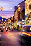 PHUKET TAJLANDIA, Październik, - 31, 2015; kolorowy światło w starym Fotografia Royalty Free