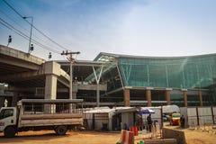 Phuket, Thaïlande - 21 février 2017 : Nouveau departur international Images stock