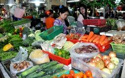 Phuket, Thaïlande : Marché de produits frais de Banzaan image libre de droits