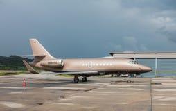 Phuket Thaïlande - 16 octobre 2016 : Faucon 1994 de Dassault Aviation 20 Image libre de droits