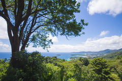 PHUKET, THAILAND-AUGUST 29, 2015 karon view point, we can see ka Stock Photo