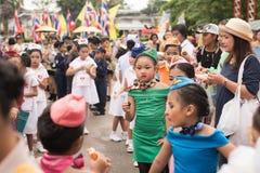 PHUKET, THAILAND - 26. AUGUST: Parade des fantastischen Schulkindes auf Augus Lizenzfreie Stockfotografie