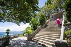 PHUKET, THAILAND-AUGUST 29, 2015 schodów karon widoku punkt a Zdjęcia Royalty Free