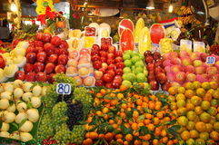 Phuket, Thailand: Banzaan Market Fresh Fruits Royalty Free Stock Photography
