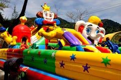 Phuket,Thailand: Children's Inflatable Playground Stock Photo