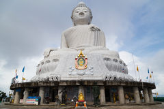 PHUKET, THAILAND - CIRCA SEPTEMBER 2015: Big Buddha Monument in Phuket,  Thailand Stock Photo