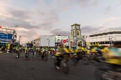 PHUKET THAILAND-DEC 11: Händelse i Thailand Arkivfoton