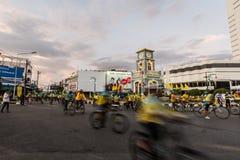 PHUKET THAILAND-DEC 11: Händelse i Thailand Arkivfoto