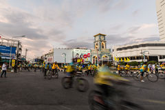 PHUKET THAILAND 11. DEZEMBER: Ereignis in Thailand Stockfoto