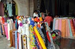 Phuket, Thailand: Fabric Store Display Stock Images
