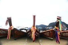 Phuket THAILAND - JANUARI 05: landskap fartyget asia för havskajakutfärden på JANUARI 05, 2015 Arkivfoton