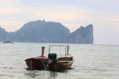 Phuket, THAILAND -JANUARY 05: landscape sea kayak excursion boat asia on JANUARY 05, 2015 Royalty Free Stock Photos