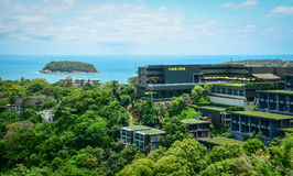 Luxury resort on the hill in Phuket, Thailand Royalty Free Stock Images