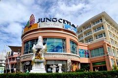 Phuket, Thailand: Jung Ceylon Einkaufszentrum Stockbild