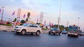 Phuket,Thailand-March,20,2014: Thep Kasatri & Si Sunthon Heroines Monument stock footage