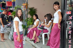 Phuket, Thailand: Massage Women Royalty Free Stock Photo