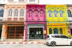 PHUKET, THAILAND - OCT 30, 2016, Phuket-stad, Thailand: Phuket ol Royalty-vrije Stock Afbeeldingen