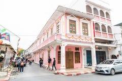 PHUKET, THAILAND - OCT 30, 2016, Phuket-stad, Thailand: Phuket ol Royalty-vrije Stock Afbeelding