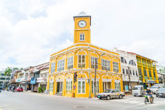 PHUKET, THAILAND - OCT 30, 2016, Phuket-stad, Thailand: Phuket ol Royalty-vrije Stock Foto's