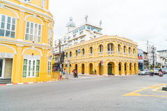 PHUKET, THAILAND - OCT 30, 2016, Phuket-stad, Thailand: Phuket ol Stock Foto's