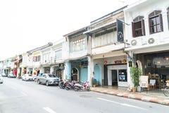 PHUKET, THAILAND - OCT 30, 2016, Phuket-stad, Thailand: Phuket ol Stock Fotografie