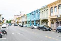 PHUKET, THAILAND - OCT 30, 2016, Phuket-stad, Thailand: Phuket ol Royalty-vrije Stock Foto