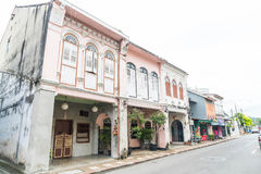 PHUKET, THAILAND - OCT 30, 2016, Phuket-stad, Thailand: Phuket ol Stock Foto