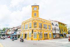 PHUKET, THAILAND - OCT 30, 2016, Phuket-stad, Thailand: Phuket ol Stock Afbeelding