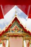 Phuket Thailand på marmortemplet Royaltyfria Bilder