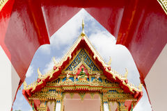 Phuket Thailand på marmortemplet Royaltyfria Foton