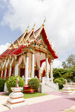 Phuket Thailand på marmortemplet Royaltyfri Bild