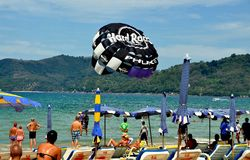 Phuket, Thailand:  Patong Beach Royalty Free Stock Photo