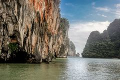 Phuket, Thailand. 2 Seas Canoe Tour Royalty Free Stock Photography