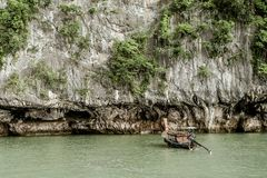Phuket, Thailand. 2 Seas Canoe Tour Stock Photography