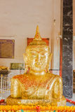 Phuket, Thailand - Sept 12, 2015: Strange Buddha statue at Pratong temple Royalty Free Stock Photo