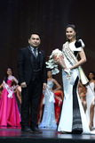 Final Round of Miss Supranational Thailand 2017 on big stage a Stock Photography