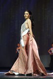 Final Round of Miss Supranational Thailand 2017 on big stage a Royalty Free Stock Photo