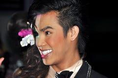 Phuket, Thailand: Simon Cabaret Performer royalty-vrije stock afbeeldingen