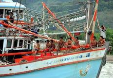 Phuket, Thailand: Thai Fishermen Stock Photography