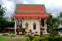 Phuket, Thailand: Wat Chalong Temple Royalty Free Stock Image
