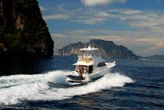 Phuket, Thailand: Yacht on Andaman Sea Royalty Free Stock Photography